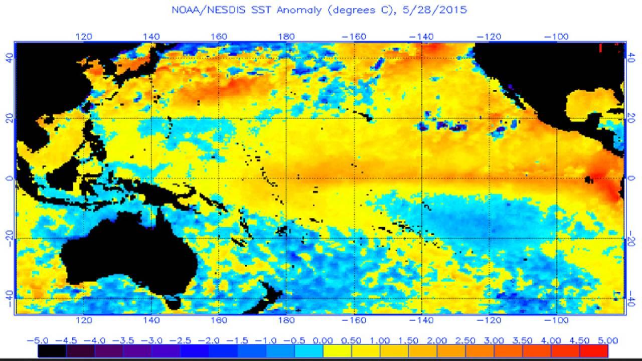 El Niño' contribui com cenário energético