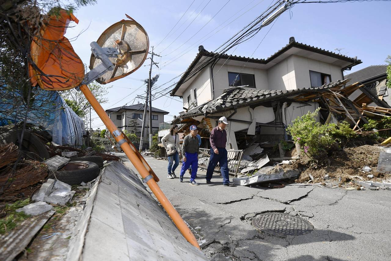 Terremoto in giappone numerose vittime centinaia di for Giappone case