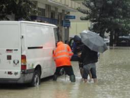 Altre immagini di Pescara allagata