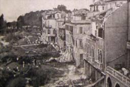 S. Elena, Venezia: quartiere devastato dall\'F4 dell\'11 Settembre 1970. Alla fermata del vaporetto si consumò la tragedia in cui persero la vita 21 persone per annegamento.