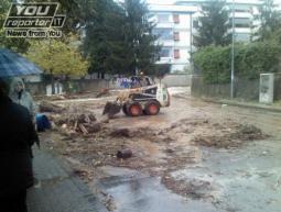 Caduti fino a 240mm tra Massa e Carrara