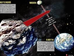 Questa notte l\'asteroide è stato distante \'appena\' 324mila km