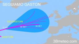 Gaston e le vicende meteo in Europa a inizio Settembre