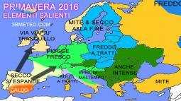 Tendenza: la parte finale dell INVERNO e gli scenari sulla PRIMAVERA 2016