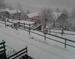 LIVE: NEVICA IN COLLINA AL NORD