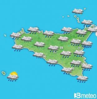METEO SICILIA. Piogge anche in vista dell Immacolata