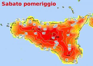Meteo Sicilia: scoppia l estate, punte sino a 37/38°C Sabato