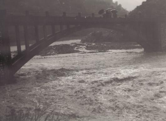 Alluvione in Calabria. Immagine di repertorio