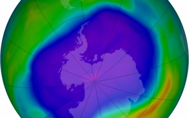 Buco Ozono in Antartide si riduce !!!