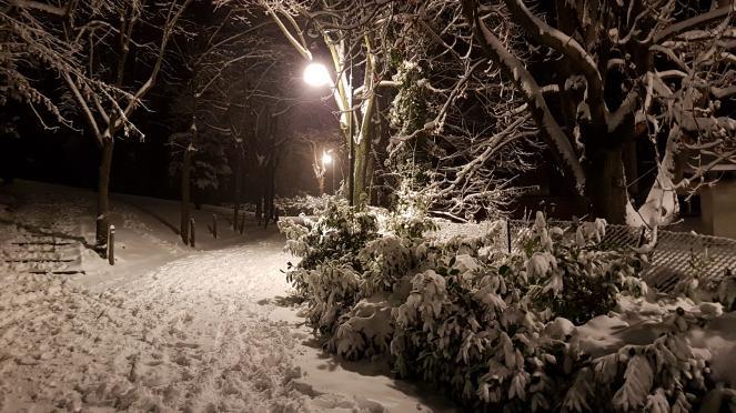Bollettino Arpa: domani nevicate anche a bassa quota
