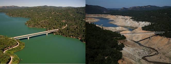 Colorado River, fiume californiano, la situazione è parzialmente migliorata nel 2017