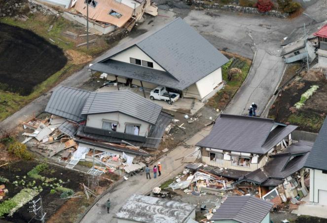 Terremoto giappone forte scossa nella prefettura di for Giappone case