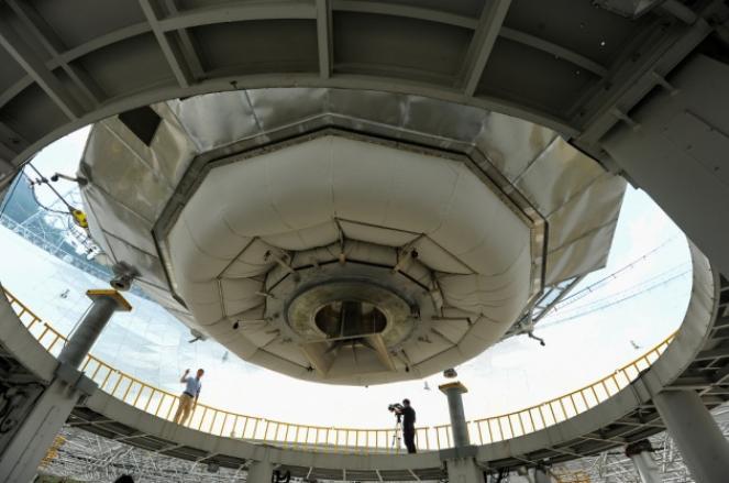 La Cina inaugura il suo grande ''orecchio'' per ascoltare l'Universo