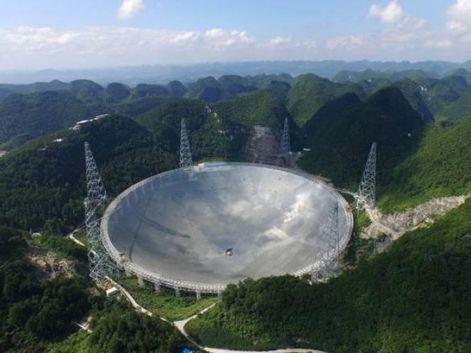 Fast, il radiotelescopio più grande del mondo