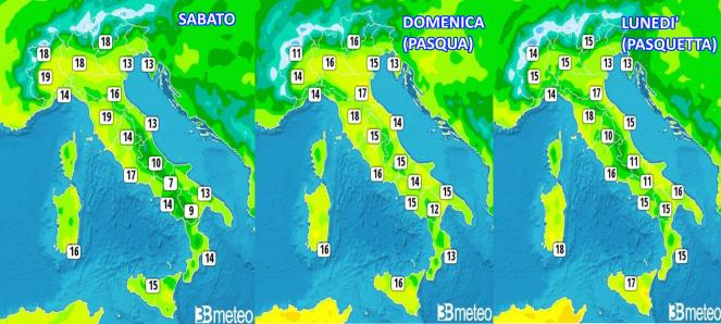 roma meteo 15 giorni
