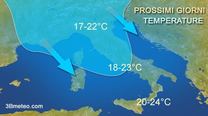 Meteo Italia Vortice di
