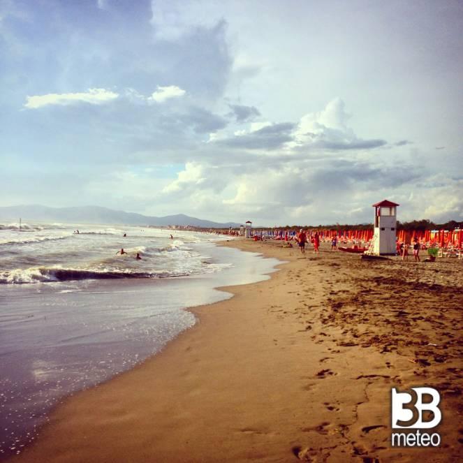 Spiaggia foto gallery 3b meteo - Bagno sardegna marina di pisa ...