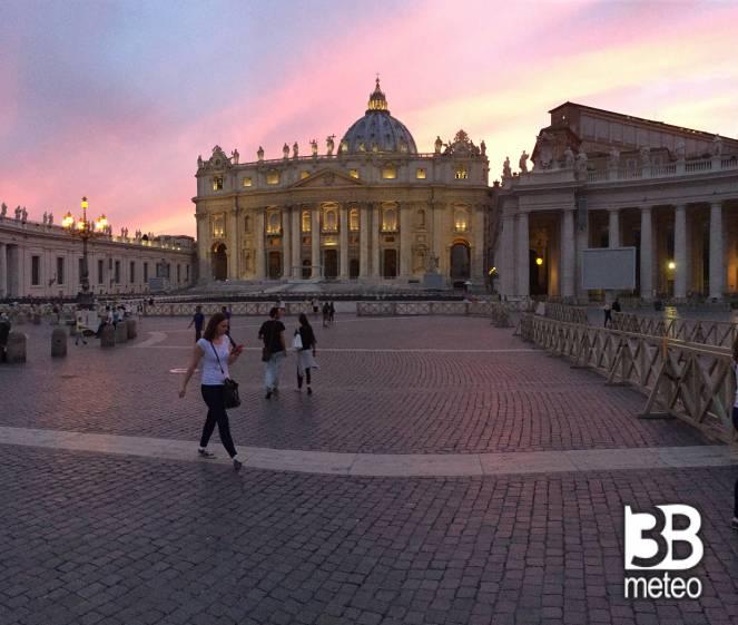 Tramonto sul vaticano foto gallery 3b meteo - Le finestre sul vaticano ...