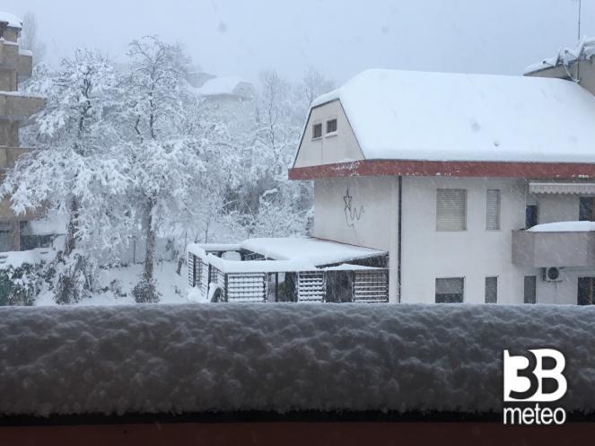 Nevicata a Chieti