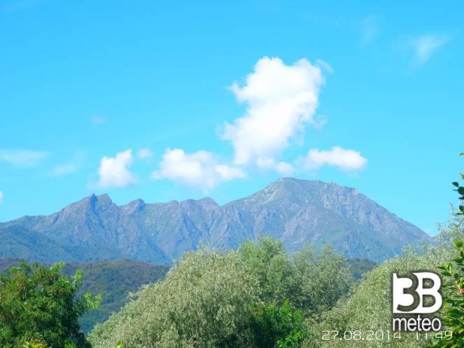 Vista montagna dalla fornace foto gallery 3b meteo for Planimetrie vista montagna
