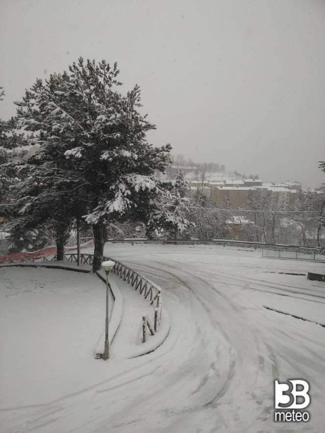 Nevicata foto gallery 3b meteo for Meteo san giovanni in fiore