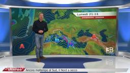 Meteo Italia: ancora maltempo al Sud, il Nord a secco