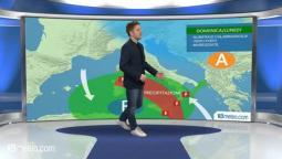 Meteo: forti temporali tra Domenica e Lunedì su Calabria e Sicilia