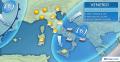 Immagine 1:Meteo Italia. Venerdì insiste il maltempo all estremo Sud e basso Adriatico. Più Sole altrove. I dettagli