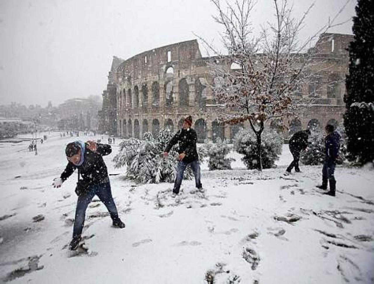 meteo roma la nevicata prevista ora per ora 3b meteo