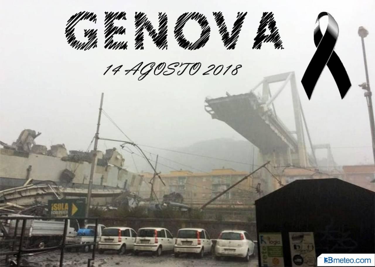 14 agosto 2018: crolla il Ponte Morandi, ben 43 vittime