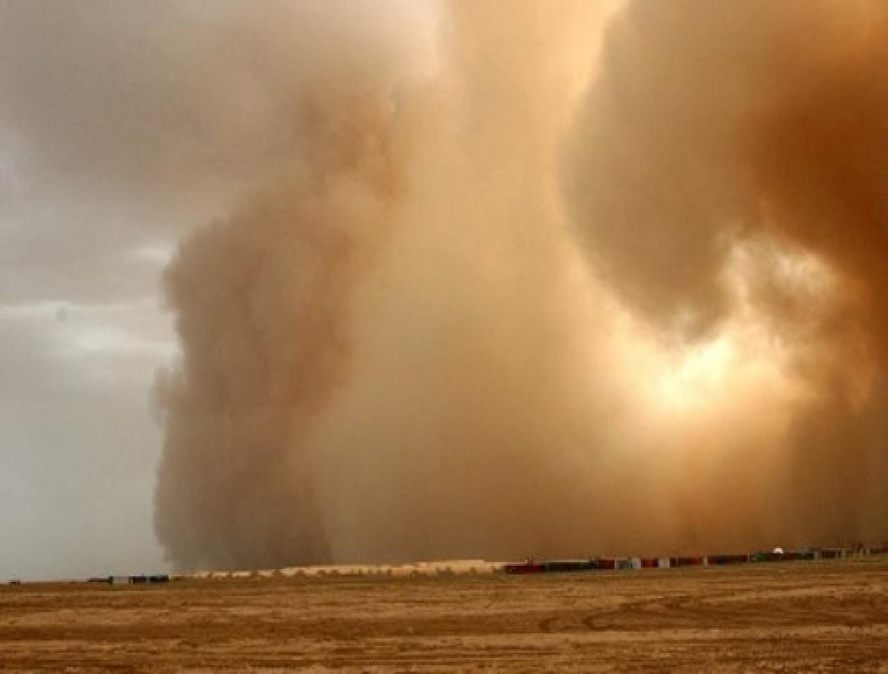 Foto tempesta di sabbia 20