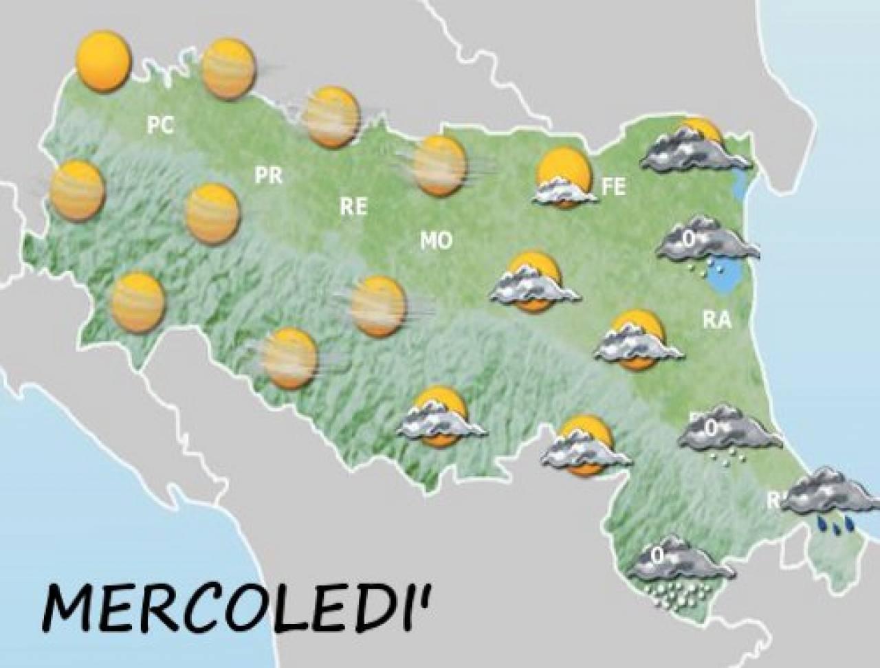 Meteo romagna forl e ravenna rovesci di neve in arrivo 3b meteo - Meteo it bagno di romagna ...