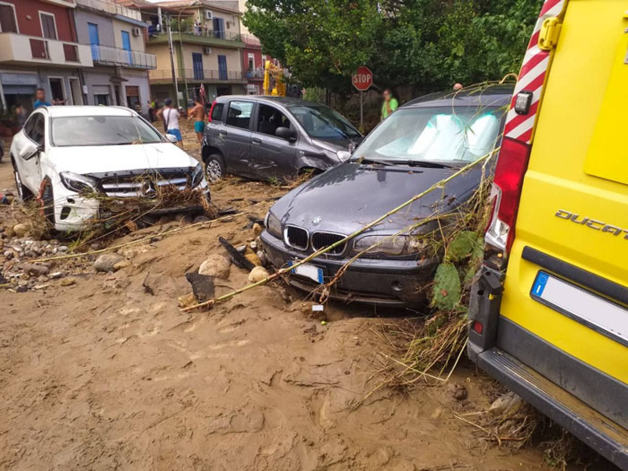 Alluvione a Terme Vigliatore. Foto di Umberto Cipriano