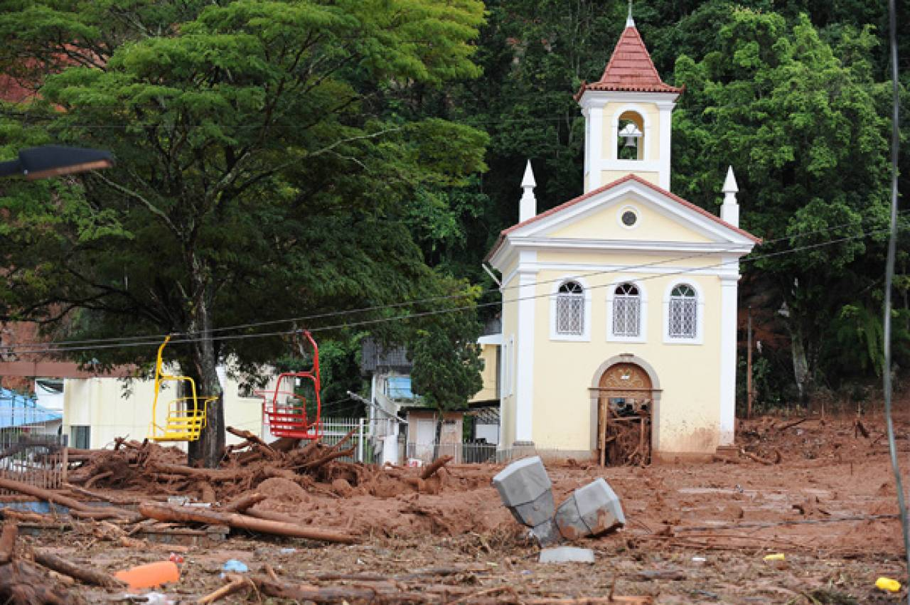 Alluvione in Brasile