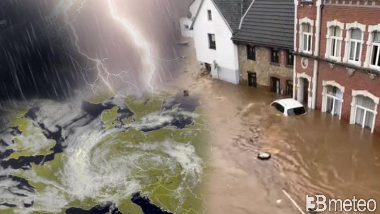 CRONACA METEO. Europa flagellata da maltempo e alluvioni, OLTRE 110 MORTI  TRA GERMANIA E BELGIO « 3B Meteo
