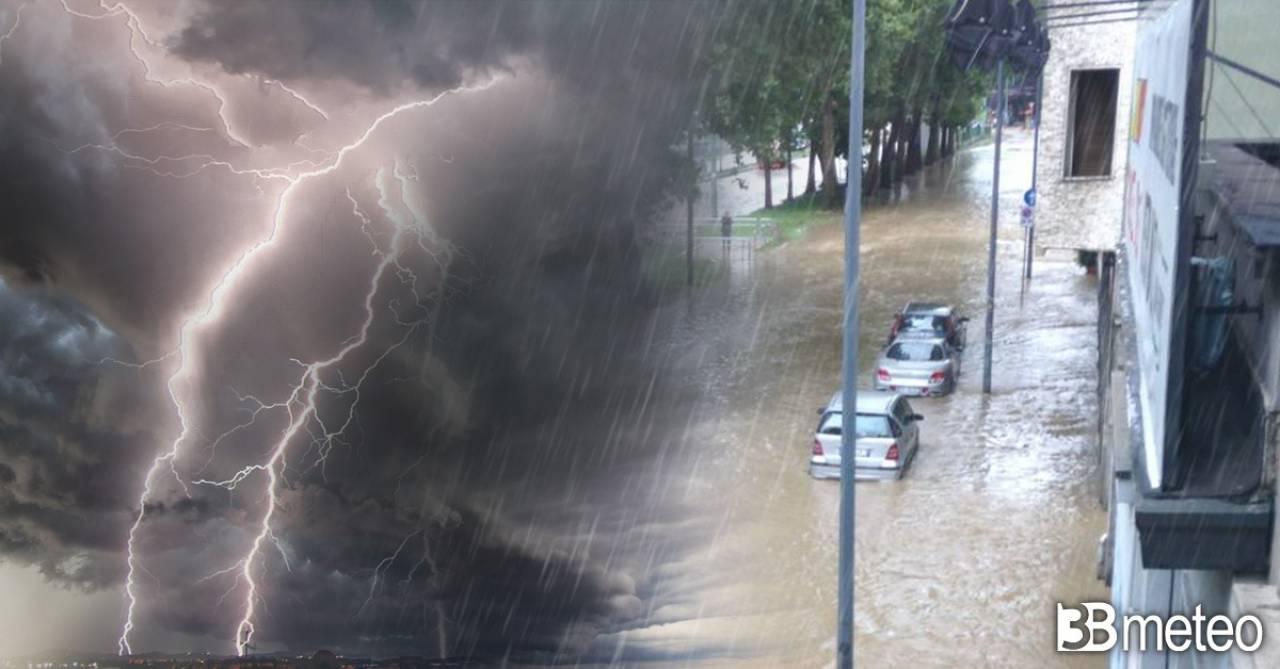 Alluvione in Spagna