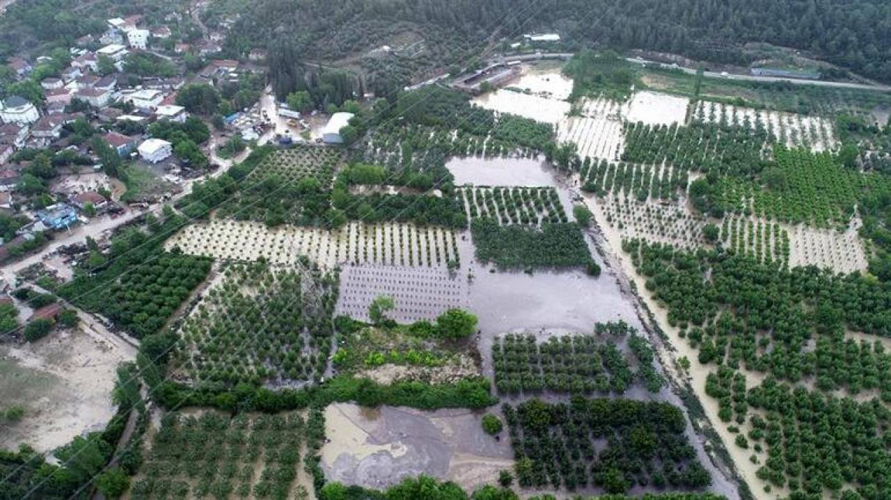 Alluvione nel nordovest della Turchia (Fonte immagine: hurriyetdailynews.com)