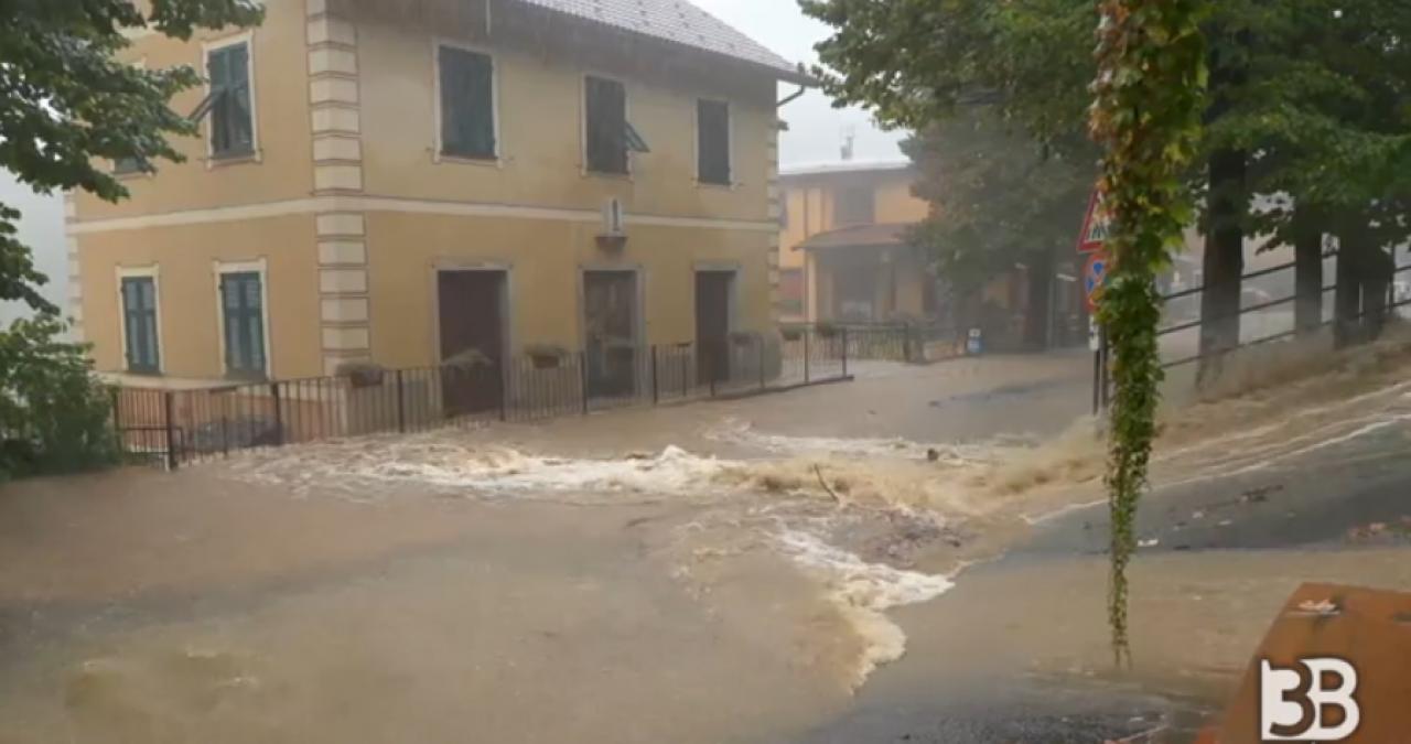 Alluvione sul Centro-Ponente ligure