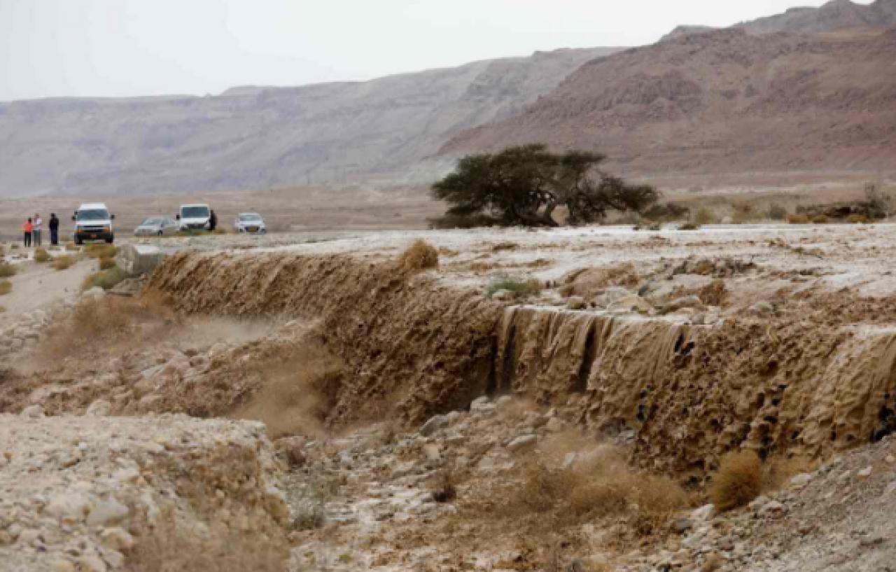 Alluvioni in Medio Oriente, immagine di repertorio