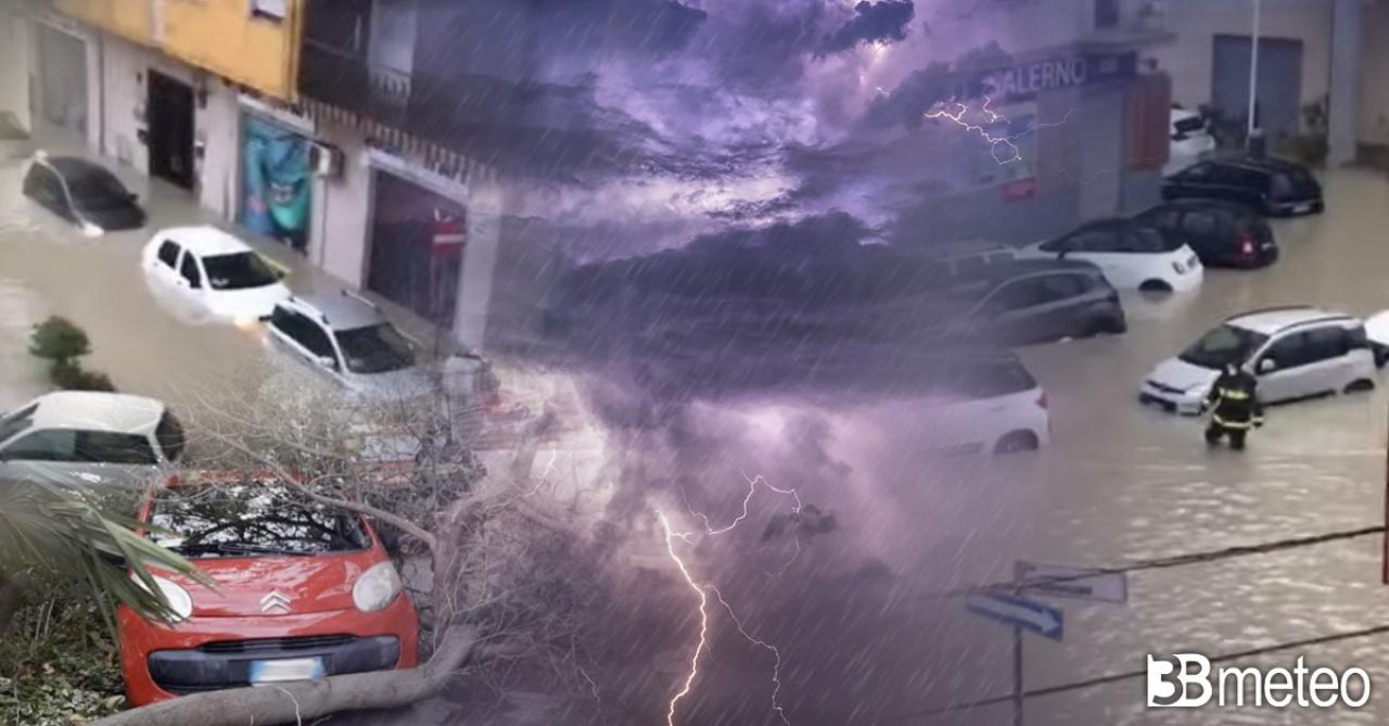 ancora maltempo e un'alluvione in Calabria