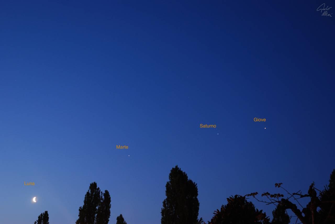 Astronomia: spettacolare congiunzione nel cielo di aprile