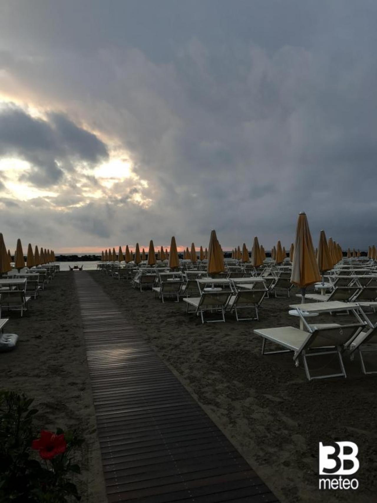 Bellaria (RN) all'alba