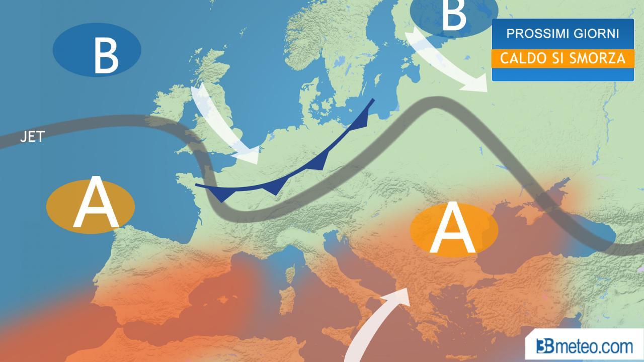 Meteo Italia, Apice del caldo entro mercoledì. Poi qualche temporale in più