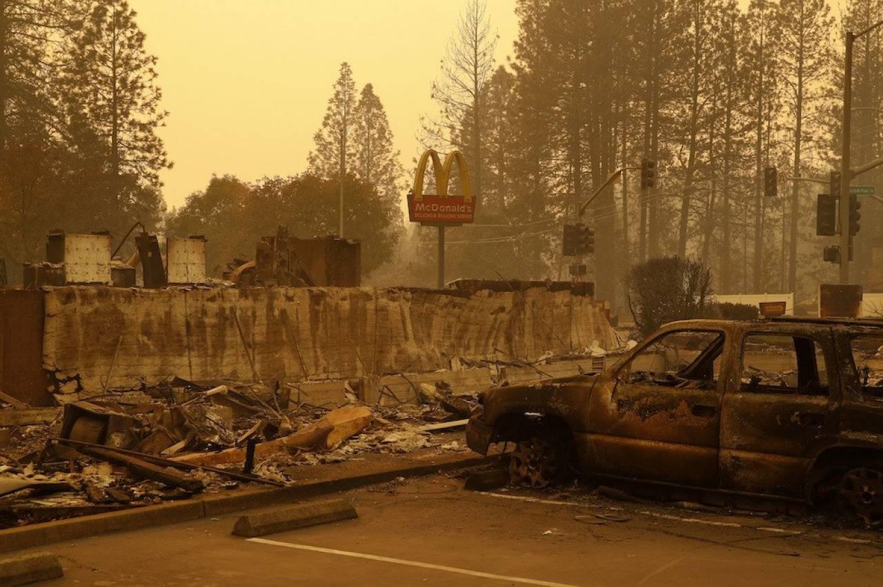 Inferno senza fine in California. Sale a 56 il numero delle vittime