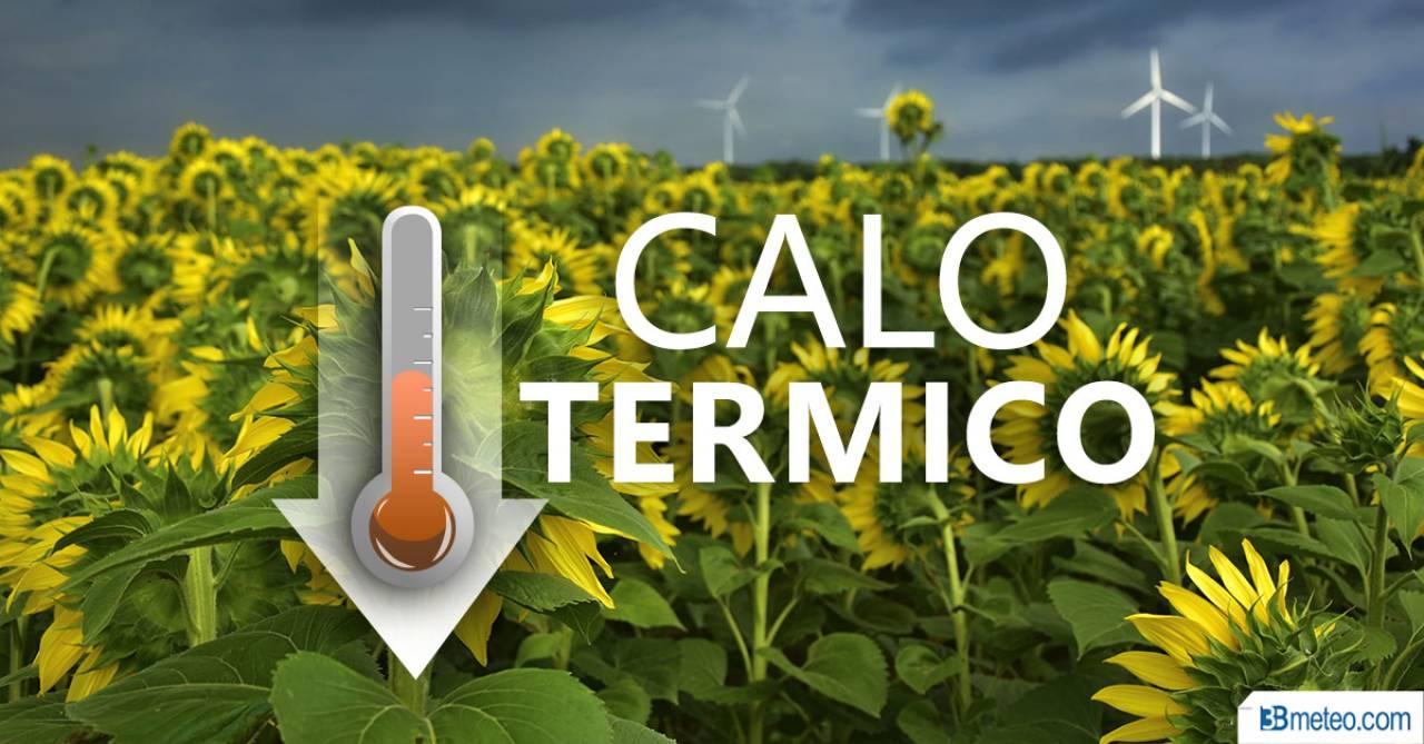 METEO WEEKEND > TEMPERATURE IN CALO, ma non ovunque. MAPPE