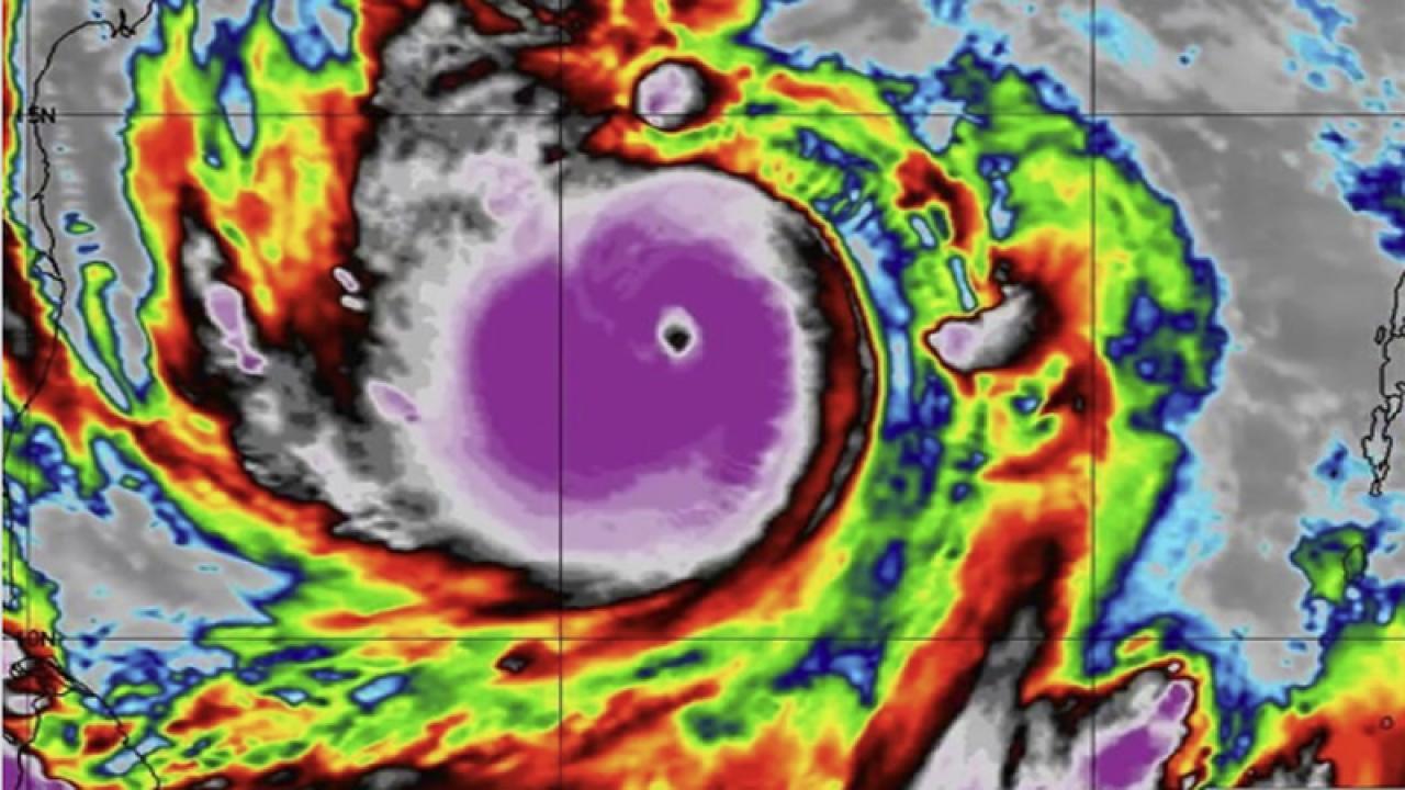 ciclone Amphan è ora un superciclone