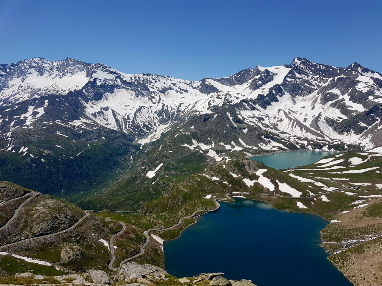 Ancora tanta NEVE in quota sulle Alpi del Piemonte