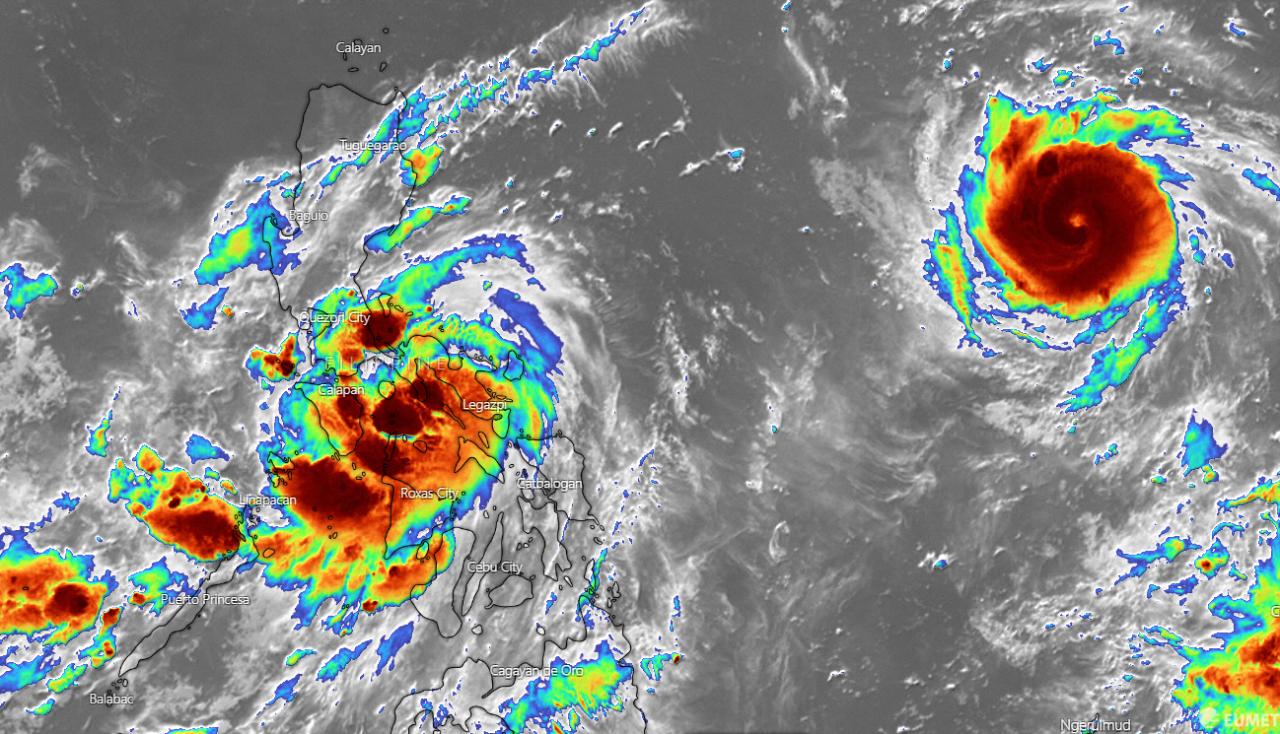 Conson e Chanthu - due tempeste tropicali nel Pacifico occidentale