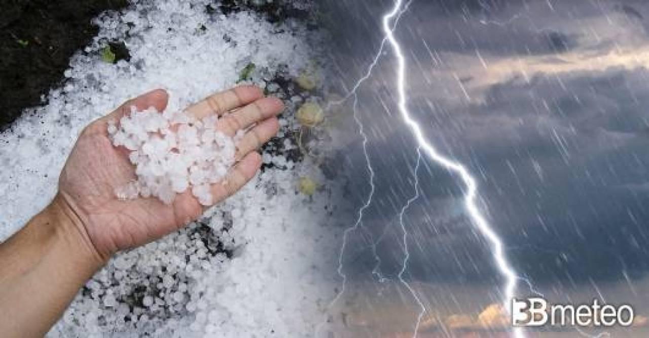 Cronaca Europa, mezzo continente alle prese con violenti temporali