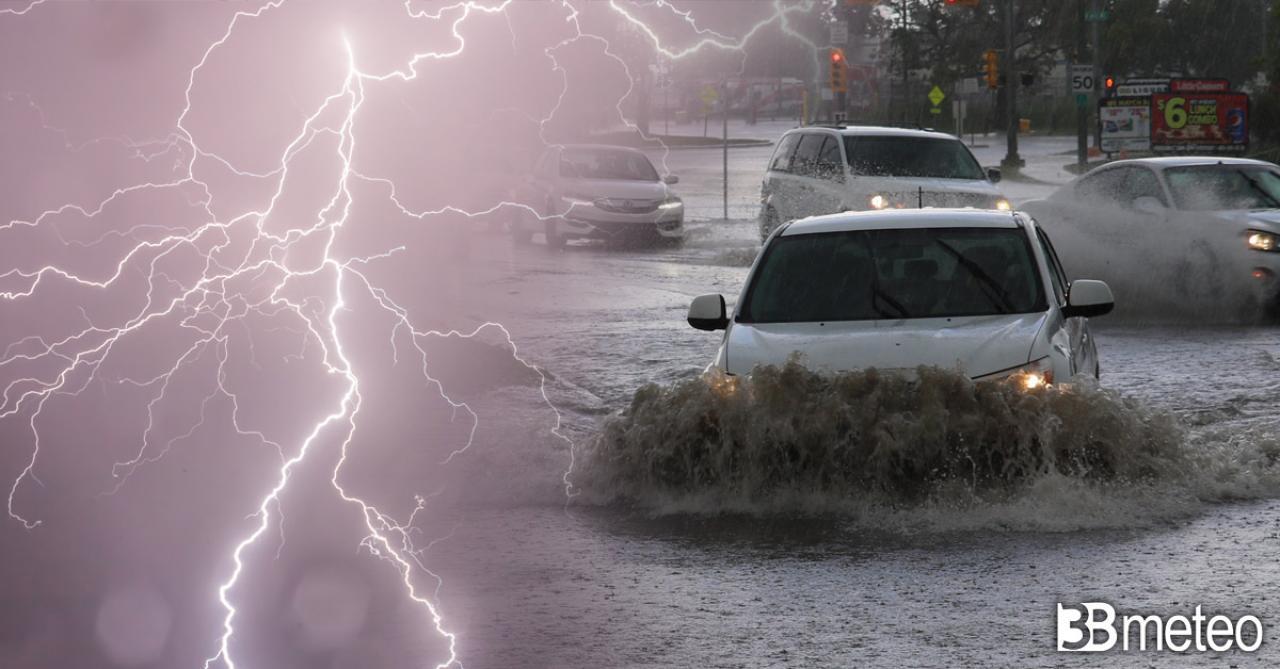Cronaca meteo, alluvione nel Foggiano